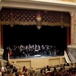 Адмиралтейский оркестр в Эрмитажном театре