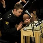 Солист Адмиралтейского оркестра Михаил Делазари