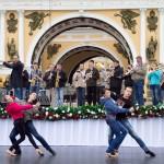 Гала-концерт на Дворцовой (репетиция)