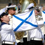 Адмиралтейский оркестр на день ВМФ