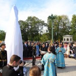 Открытие памятника адмиралу Ушакову в Кронштадте