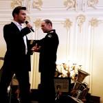 Петр Захаров и Адмиралтейский оркестр Ленинградской военно-морской базы