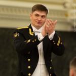 Игнатов Никита Сергеевич начальник и дирижер Адмиралтейского оркестра Ленинградской военно-морской базы