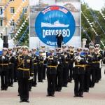 Адмиралтейский оркестр Ленинградской военно-морской базы на фестивале в г.Архангельске