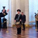 Адмиралтейский оркестр в Георгиевском зале Эрмитажа