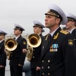 Присяга матросов Адмиралтейского оркестра