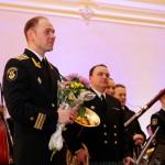 Начальник Адмиралтейского оркестра Валентин Лященко