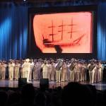 Адмиралтейский оркестр на праздничном концерте в БКЗ «Октябрьский»