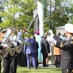 Адмиралтейский оркестр на открытии памятника адмиралу Ушакову в Кронштадте