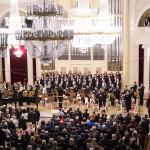 Адмиралтейский оркестр на дне Подводного флота в филармонии