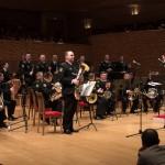 Музыканты Адмиралтейского оркестра в концертном зале Мариинского театра