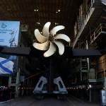 Торжественная церемония спуска подводной лодки «Колпино»