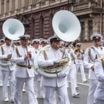 Парад ВМФ 2017. Сводный Военно-Морской оркестр